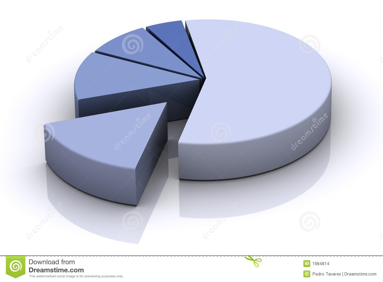 3d Pie Chart Stock Images - Image: 1984814
