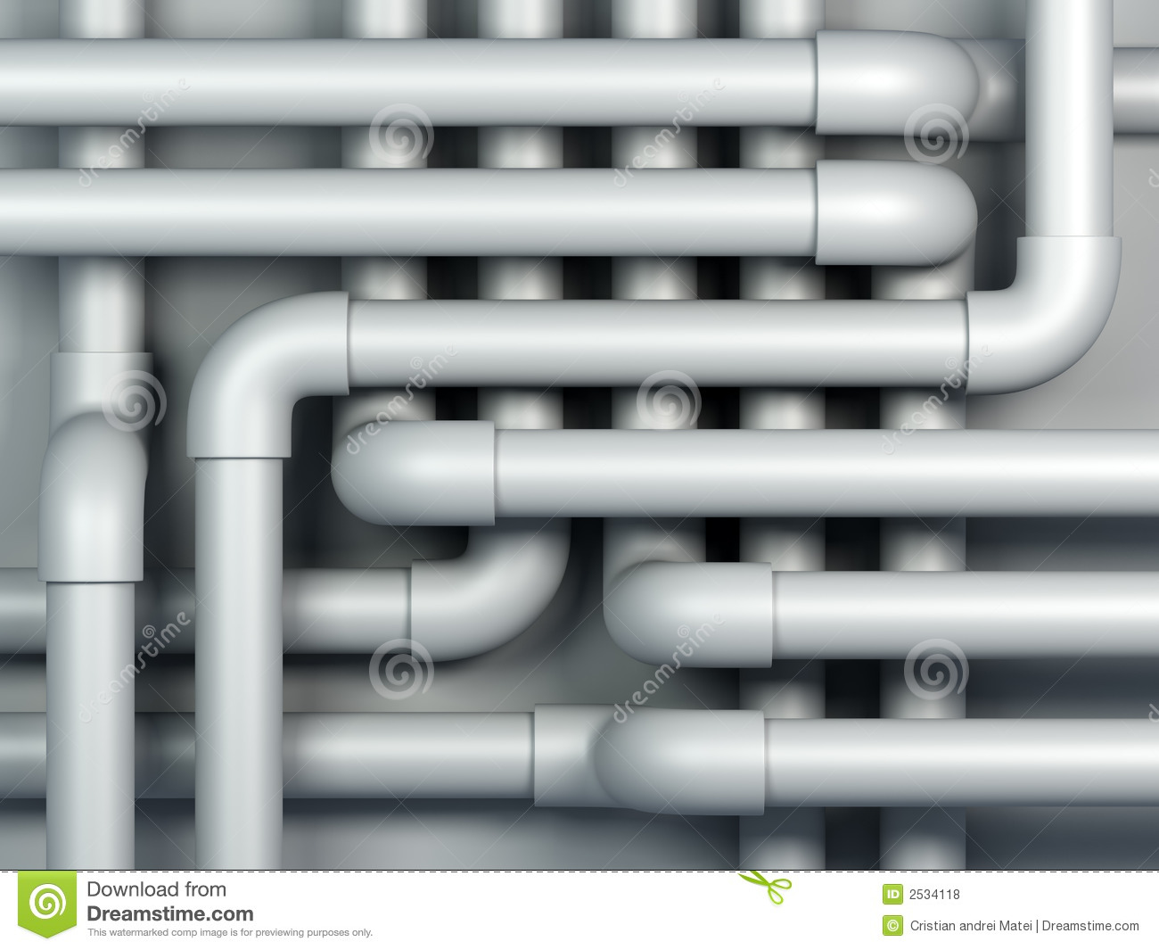 3d Pipes Royalty Free Stock Photos Image 2534118