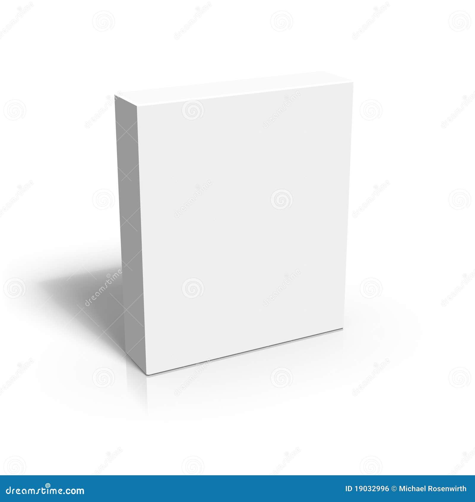 3d pustego miejsca pudełko