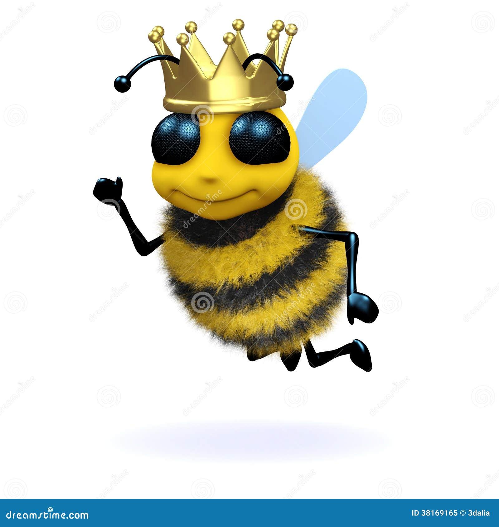 3d Queen Bee