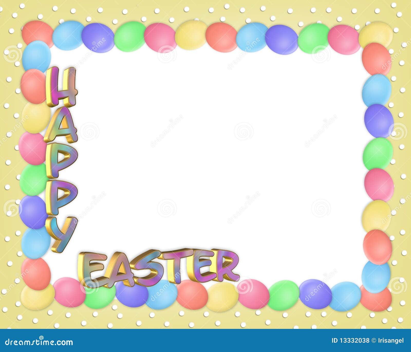 3d rabatowy Easter jajek tekst