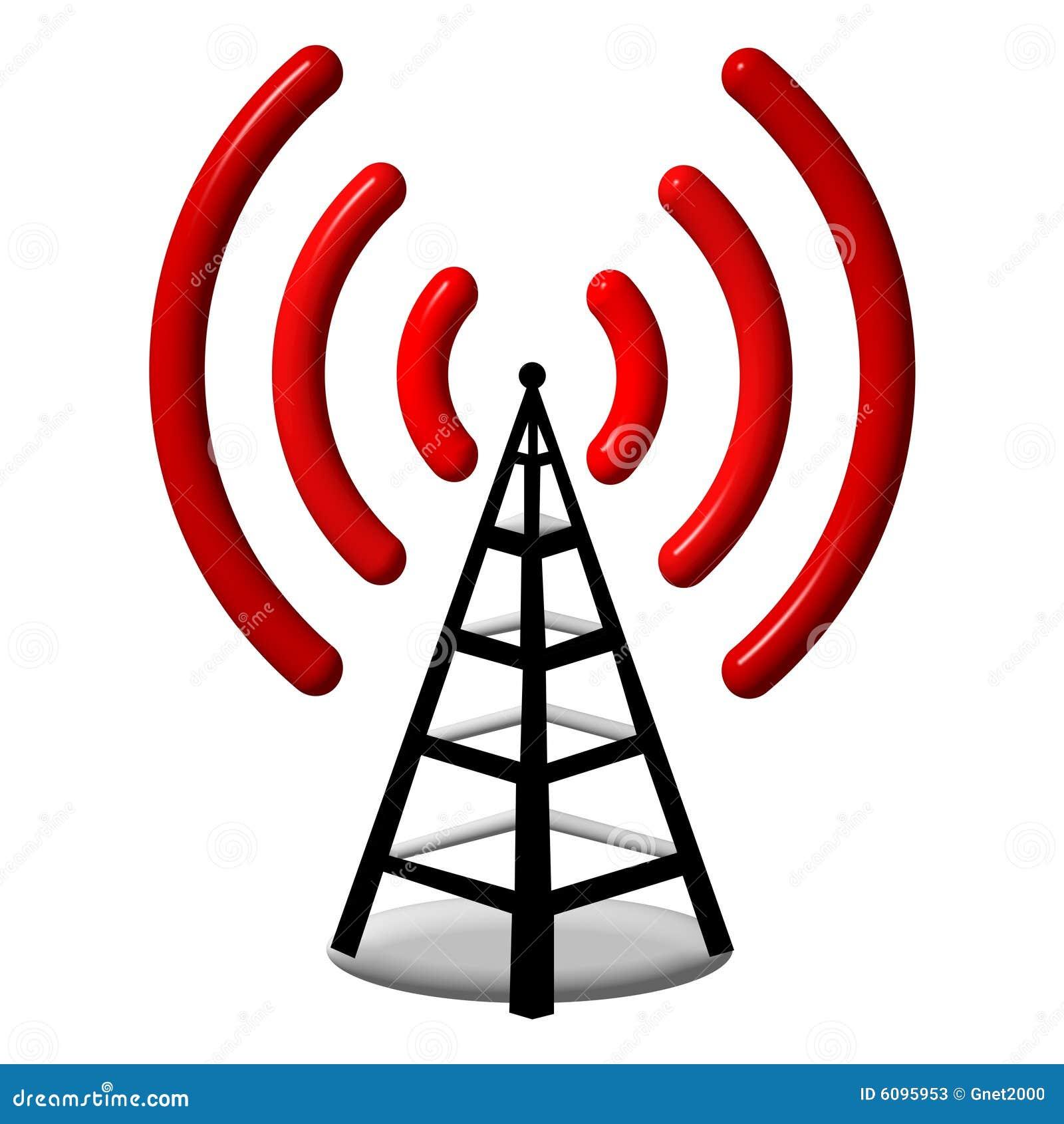 3d Radio antenna