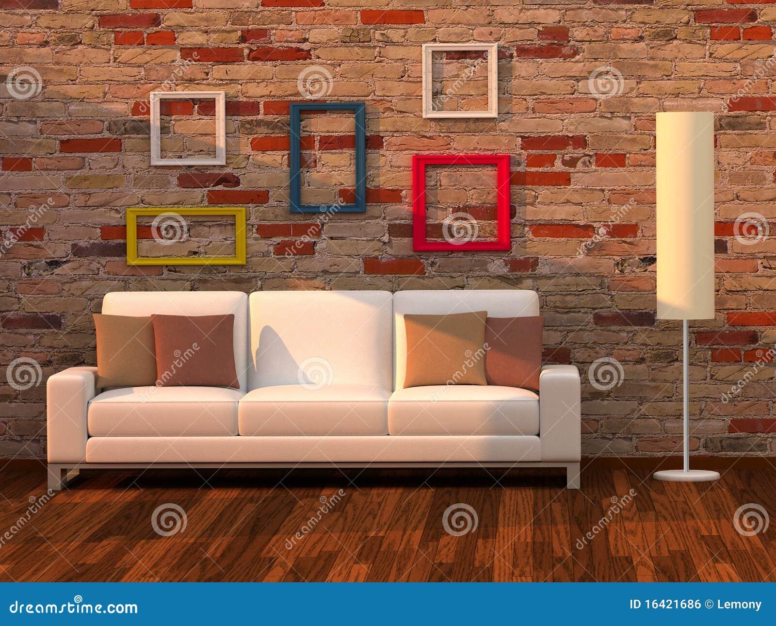 3d Rendem A Sala De Visitas, Quarto Moderno Imagem de  ~ Quarto Sala Moderno