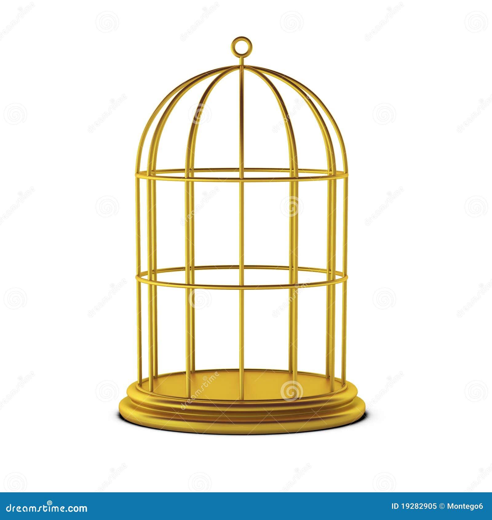 3d rendent de la cage d 39 oiseau photo libre de droits image 19282905. Black Bedroom Furniture Sets. Home Design Ideas