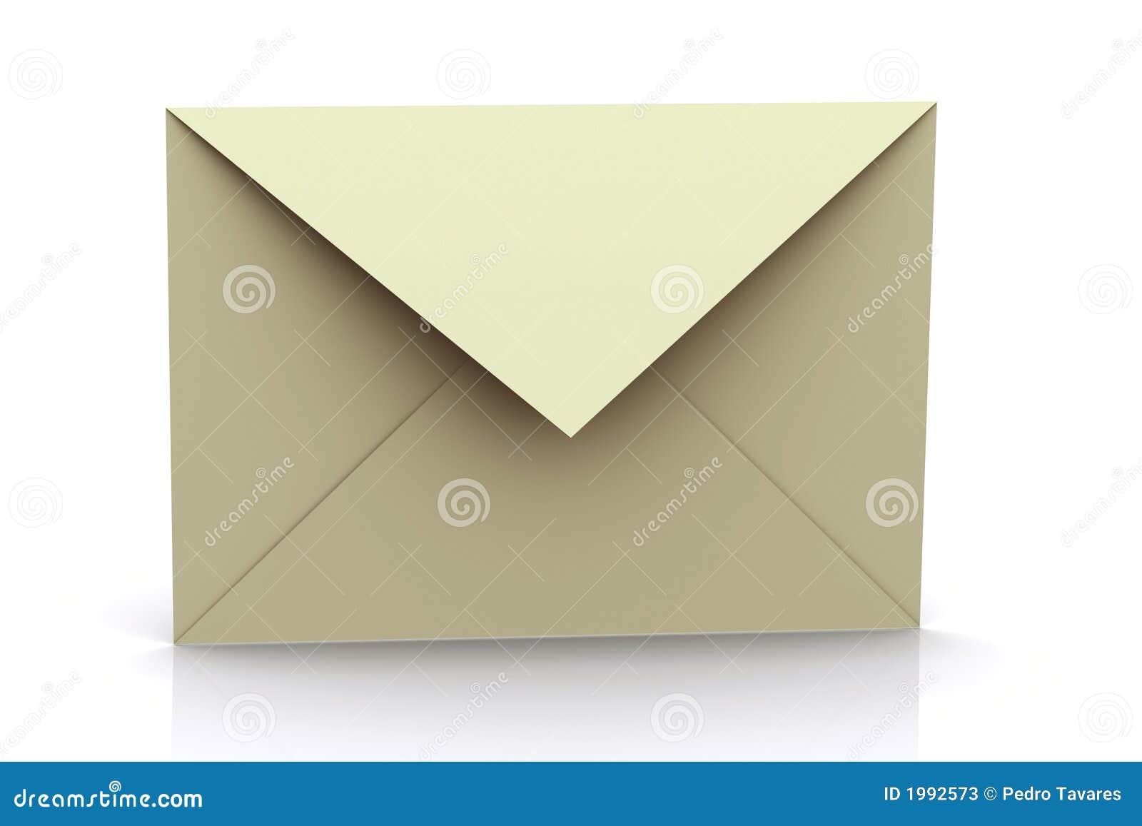 3d Rendered Envelope