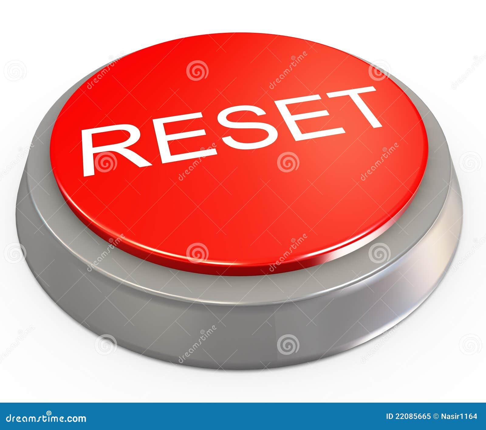 3d Reset Button Royalt...