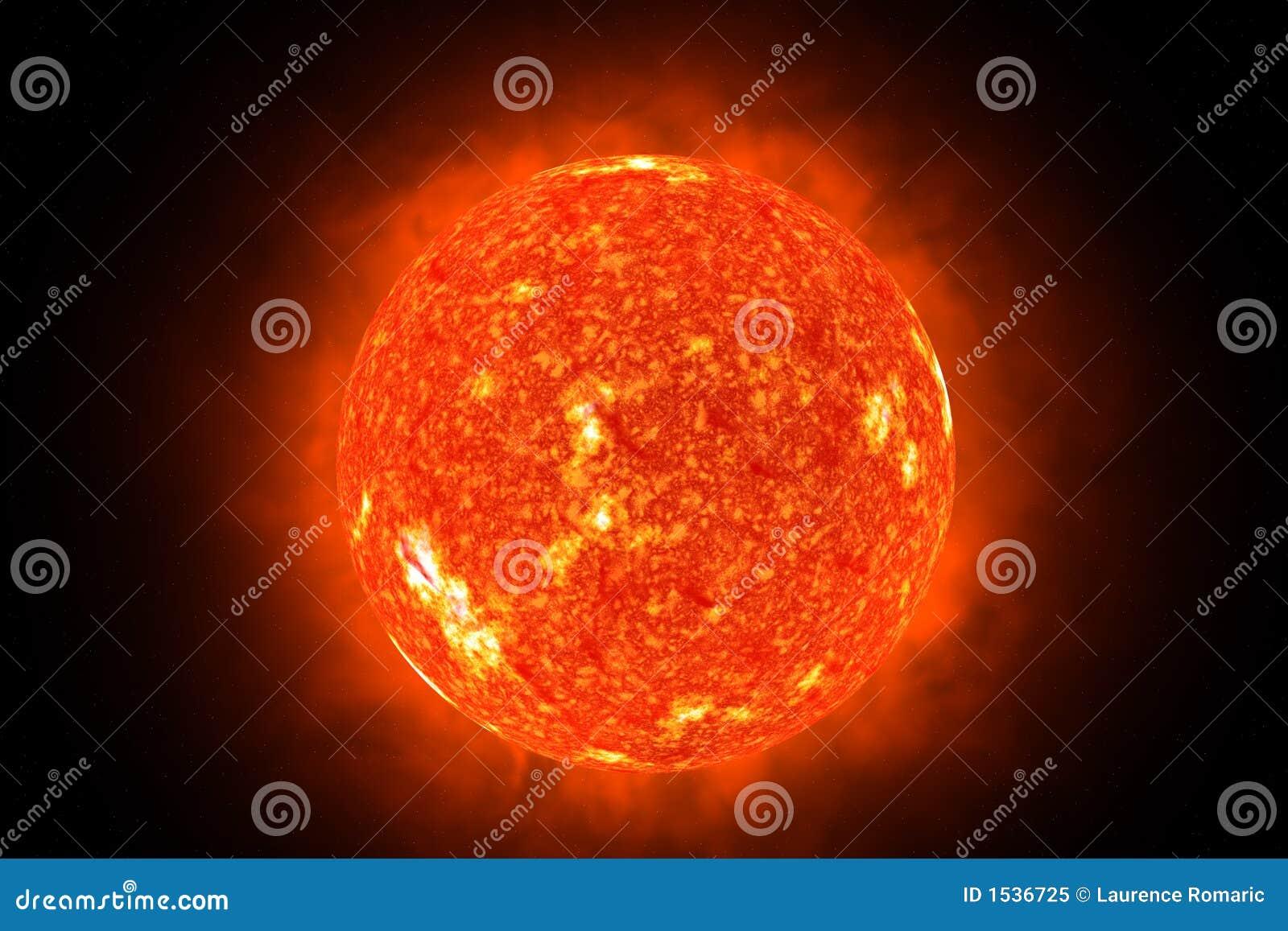 3d słońce