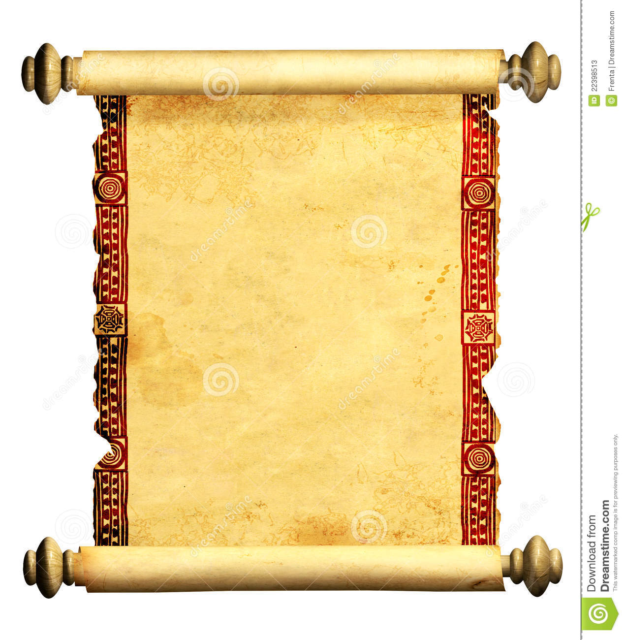 More similar stock images of ` 3d scroll of old parchment `