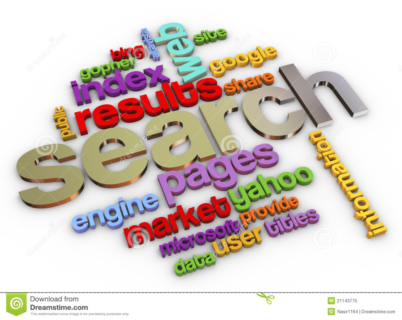 3d search engine royalty free stock photo image 21143775 for 3d search engine