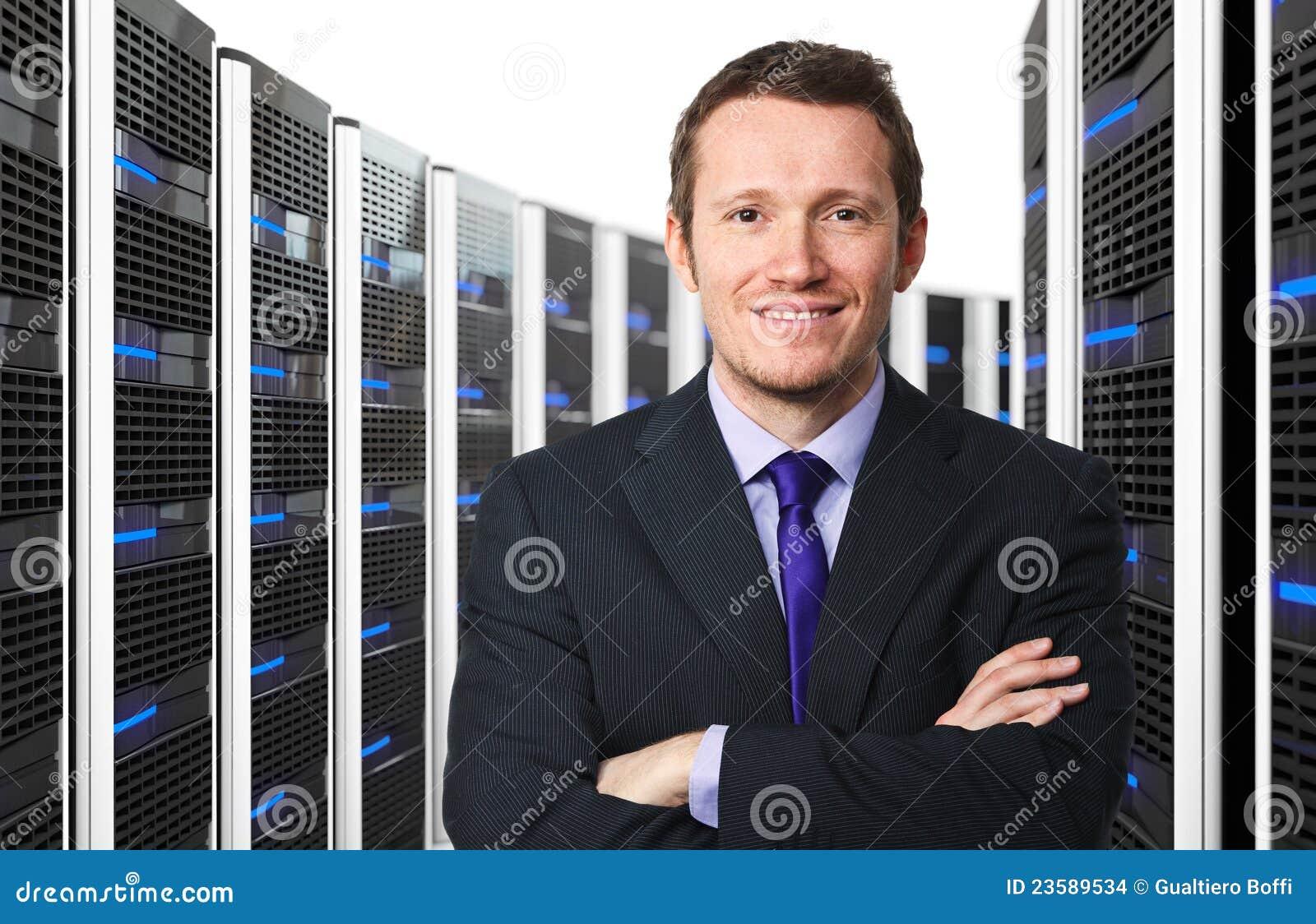 3d server en arbeider