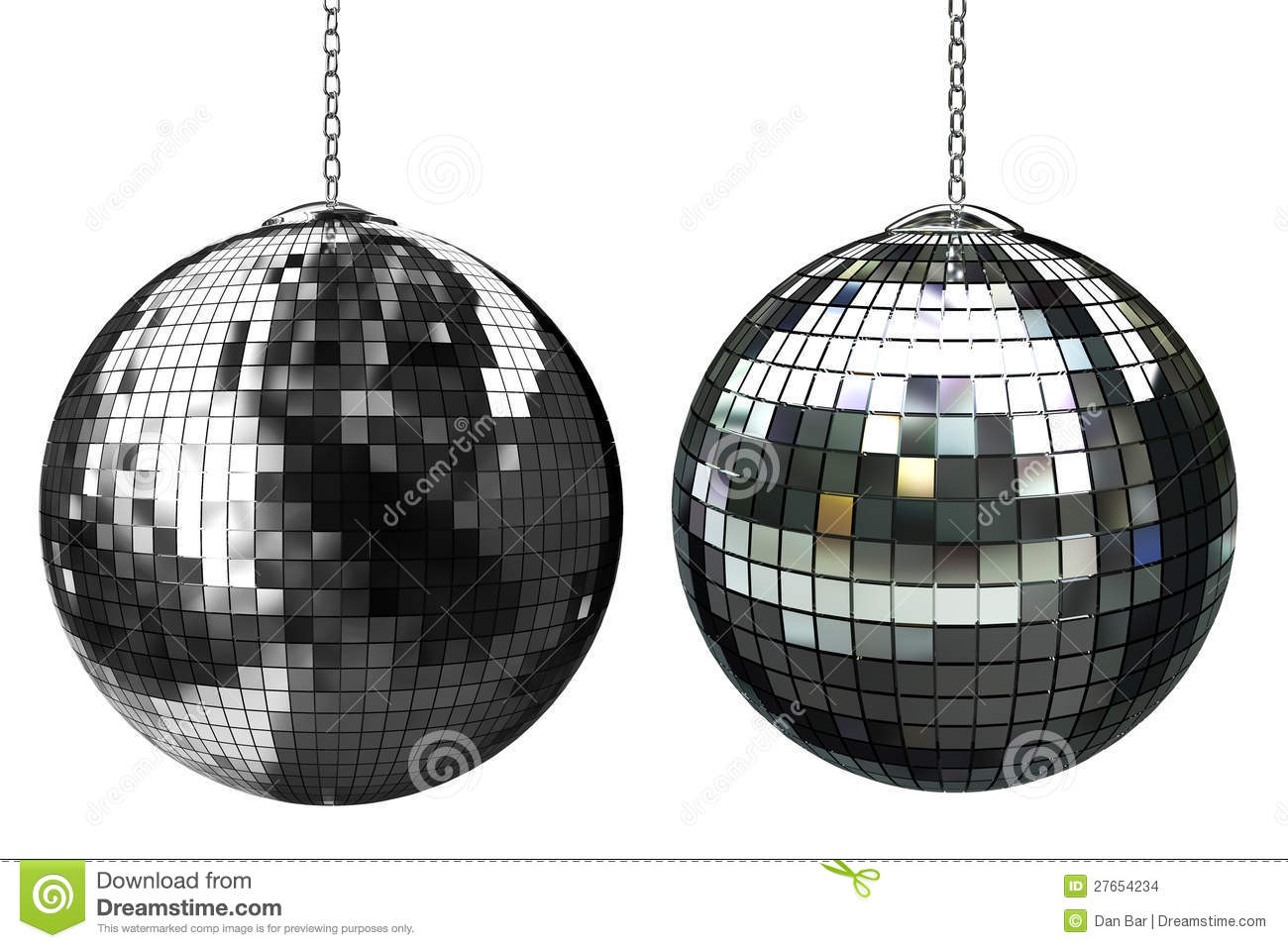 3d Shiny Disco Ball Stock Images - Image: 27654234