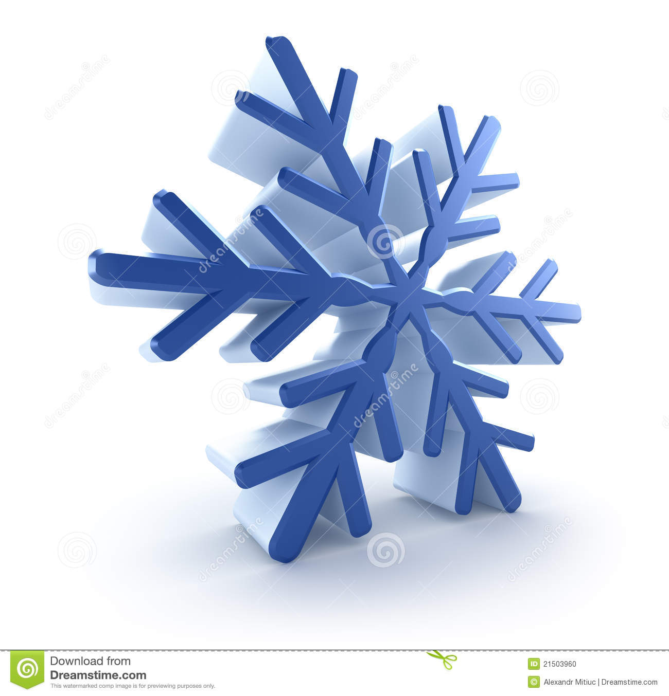 3d snowflake stock photo image 21503960 holly leaves clip art to color holly leaves clip art black and white free