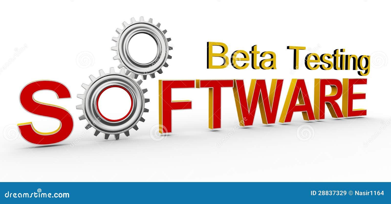 3d software beta testing stock illustration. Image of step ...