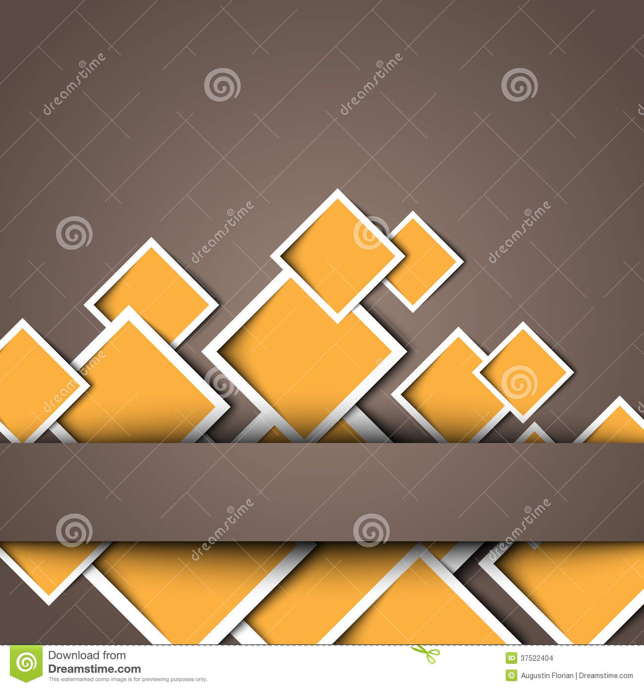 3d square design template stock vector illustration of frame 37522404