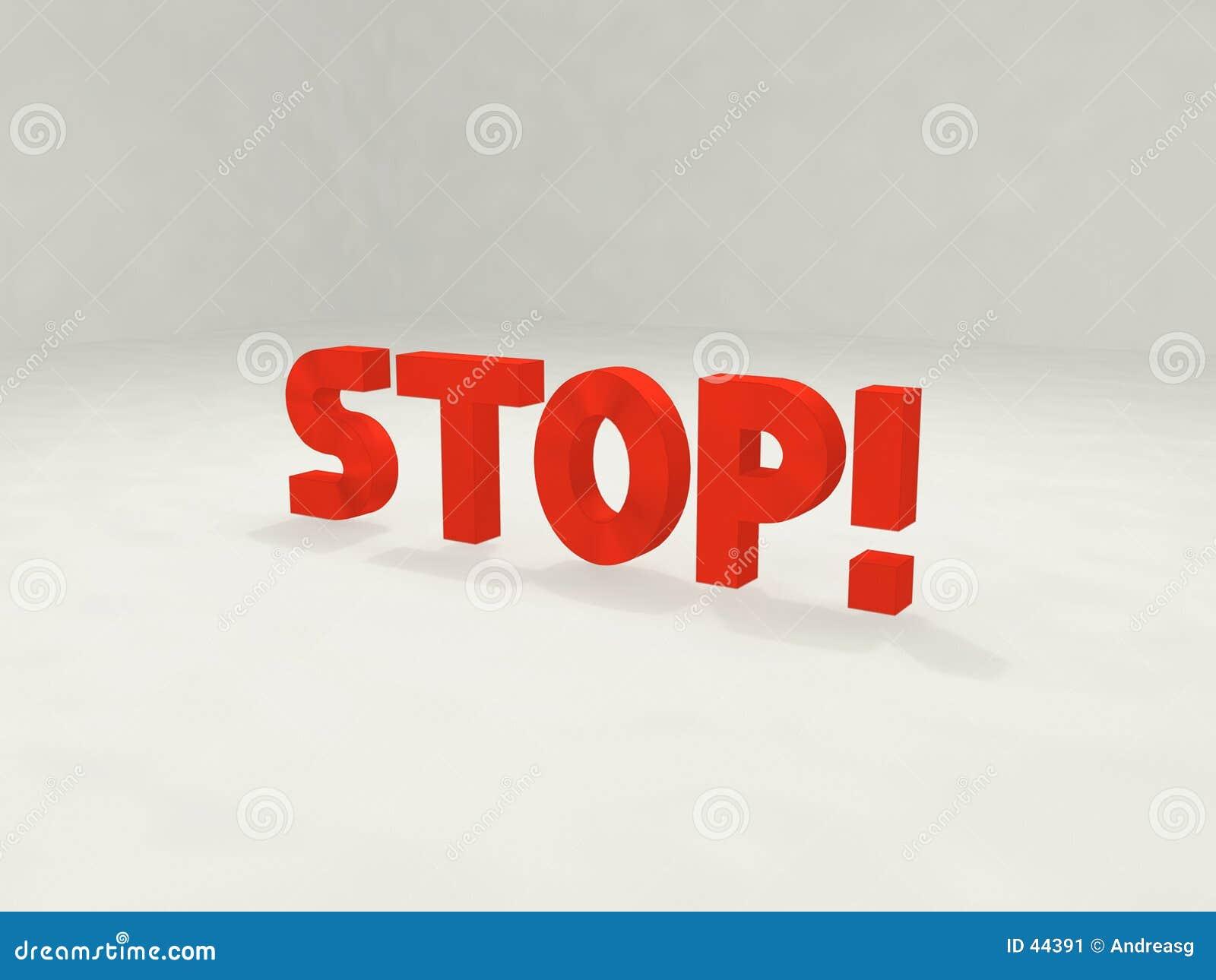 3d Stop!