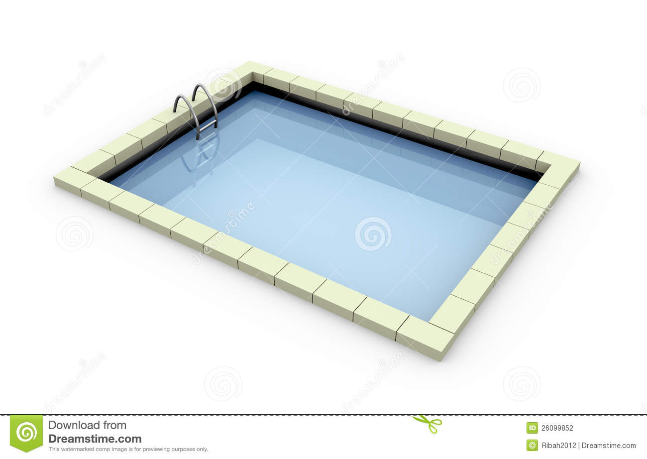 3d swimming pool stock illustration image of lifestyle 26099852 for Swimming pool 3d model free download