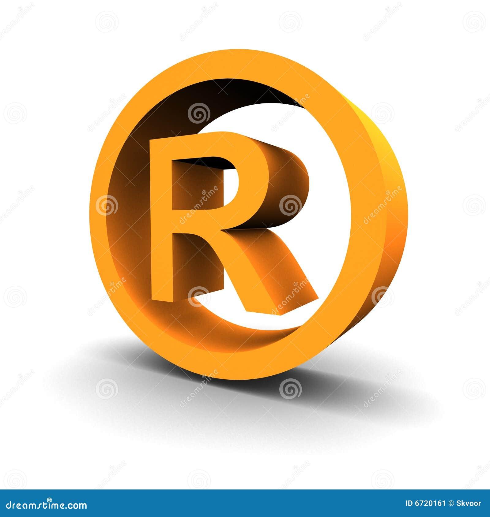 3d symbolu znak firmowy