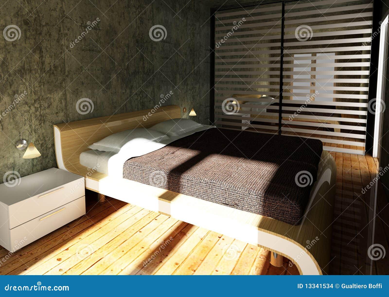 3d sypialnia nowożytna