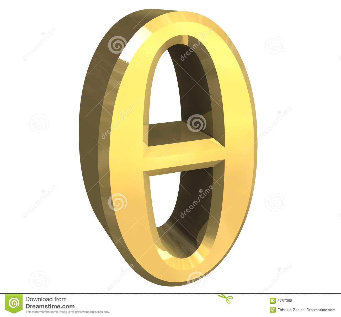 3d theta symbol in gold stock illustration illustration of sign 3d theta symbol in gold biocorpaavc Image collections