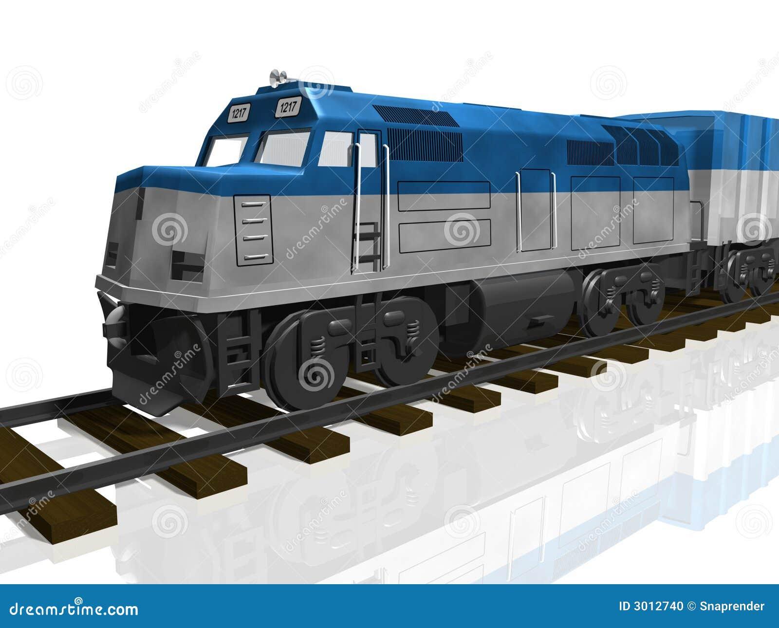 Levers Train Tracks O N : D train on tracks isolated stock illustration