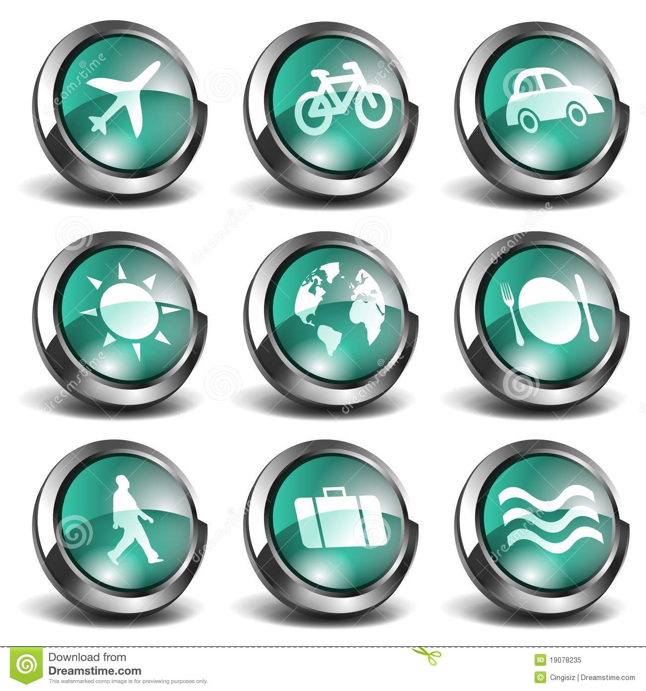 3d travel icons stock illustration image of pack for 3d wohnungsplaner download
