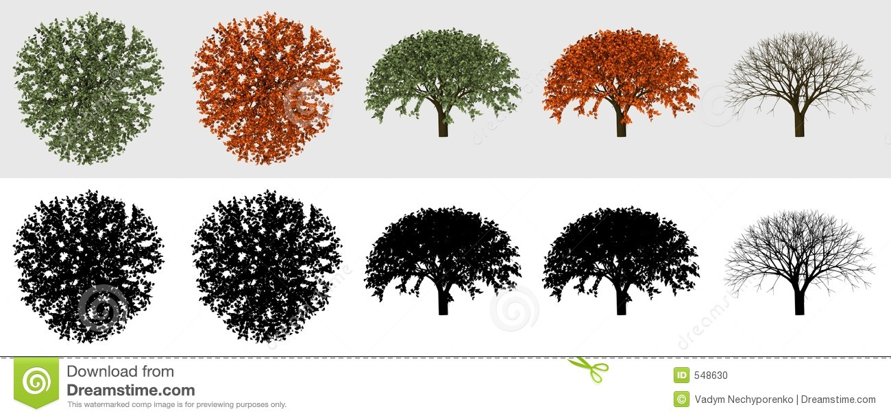 3D Tree collection 01