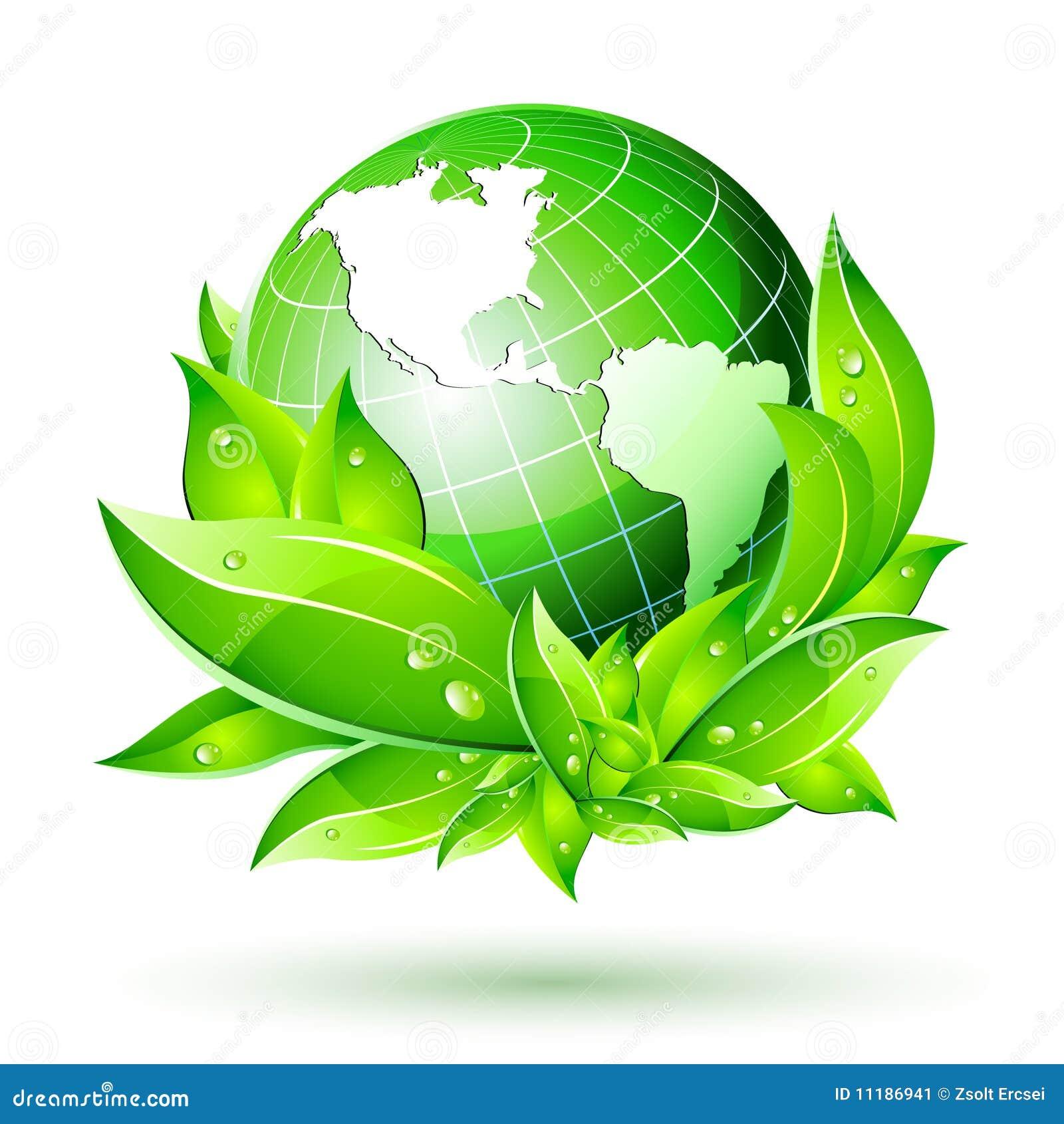 3D Earth Globe Vector