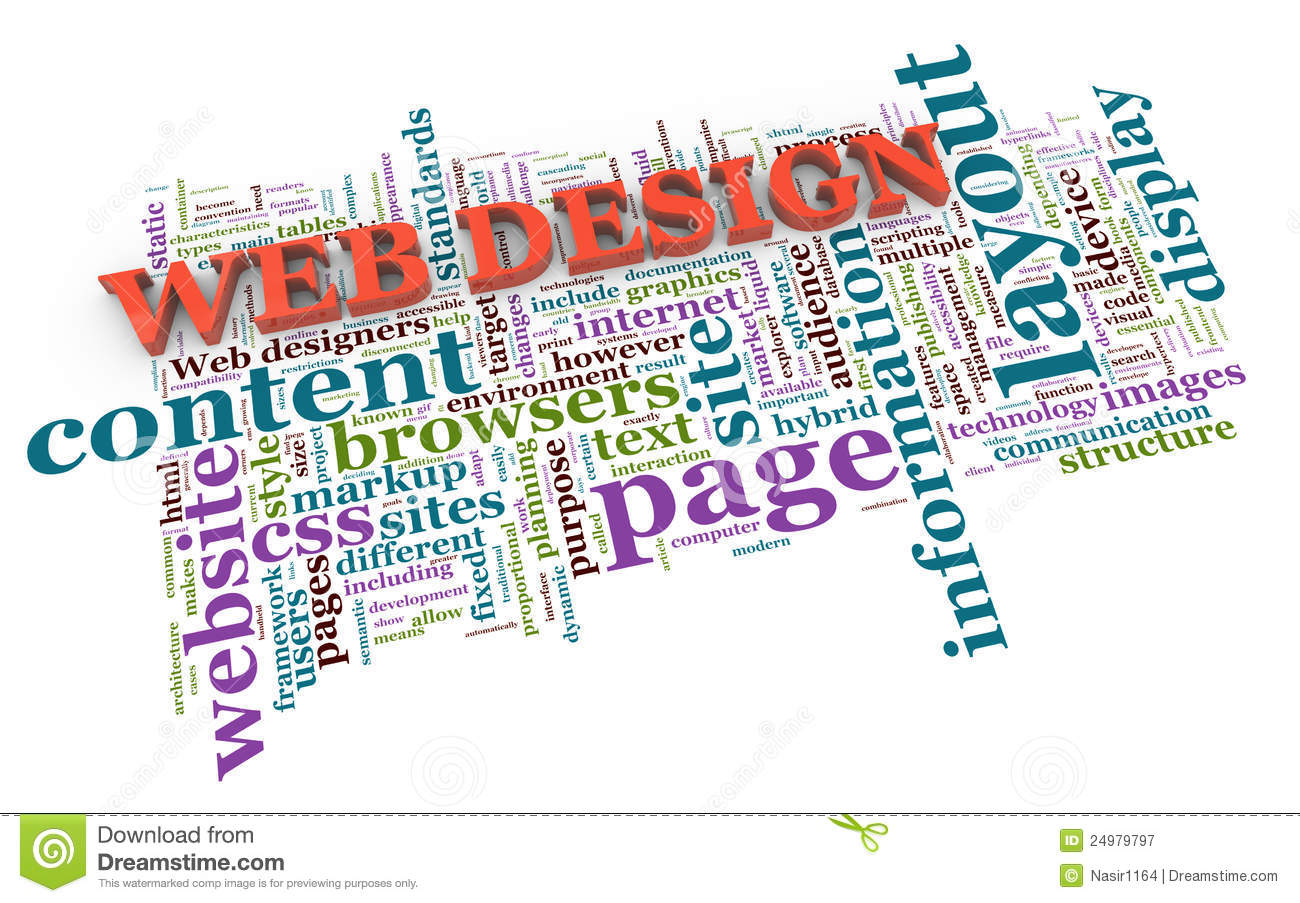 3d Web Design Tags Royalty Free Stock Photography Image