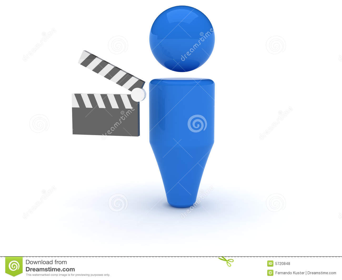3d Web Icon Video Royalty Free Stock Photos Image 5720848