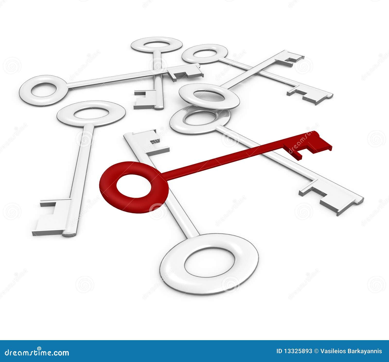 3d wizerunku klucza odpoczynku dobro