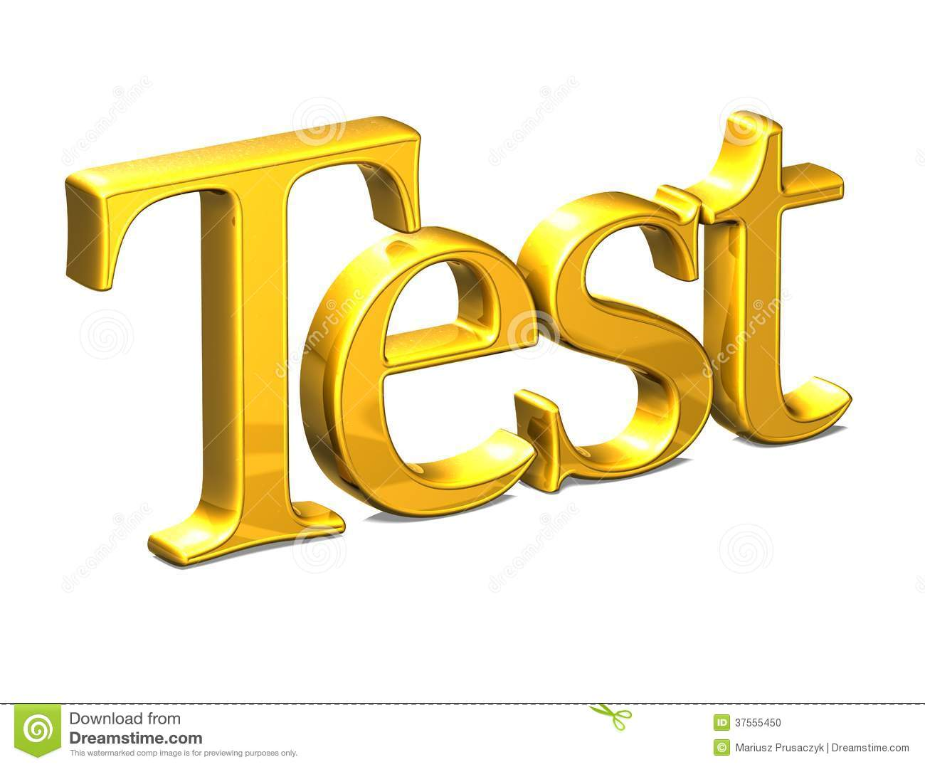 download 3d word test on white background stock illustration illustration of reflection isolated