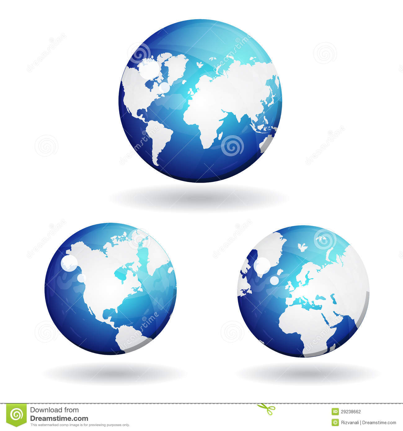 3d World Globe Map Vector Icon Stock Photography - Image ...