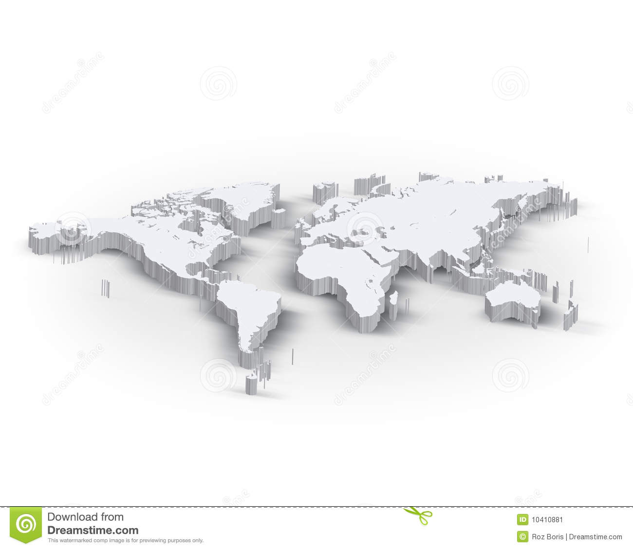 3d world map stock illustration illustration of asia 10410881 3d world map gumiabroncs