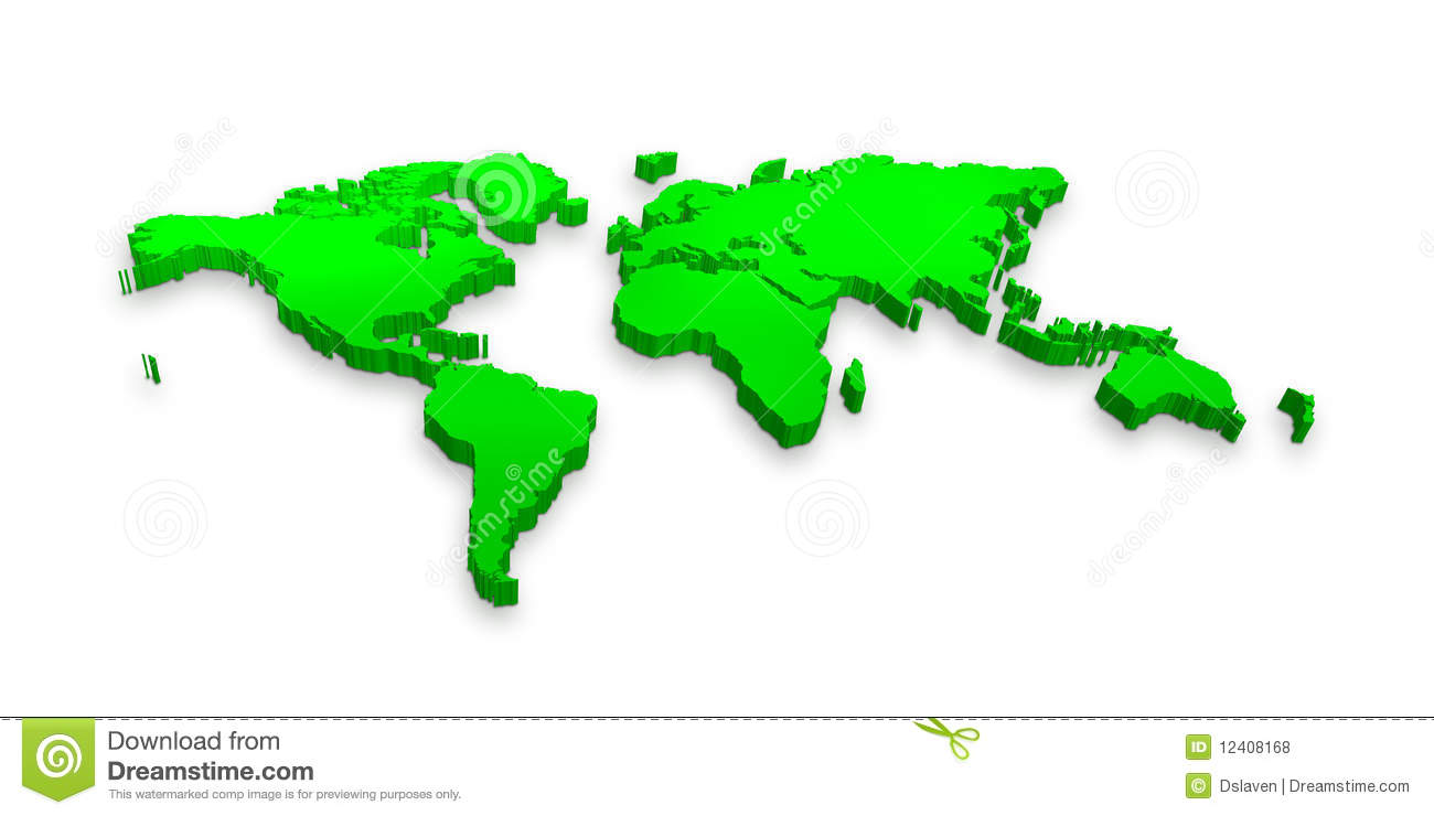 3d world map stock illustration illustration of oceans 12408168 3d world map gumiabroncs Choice Image