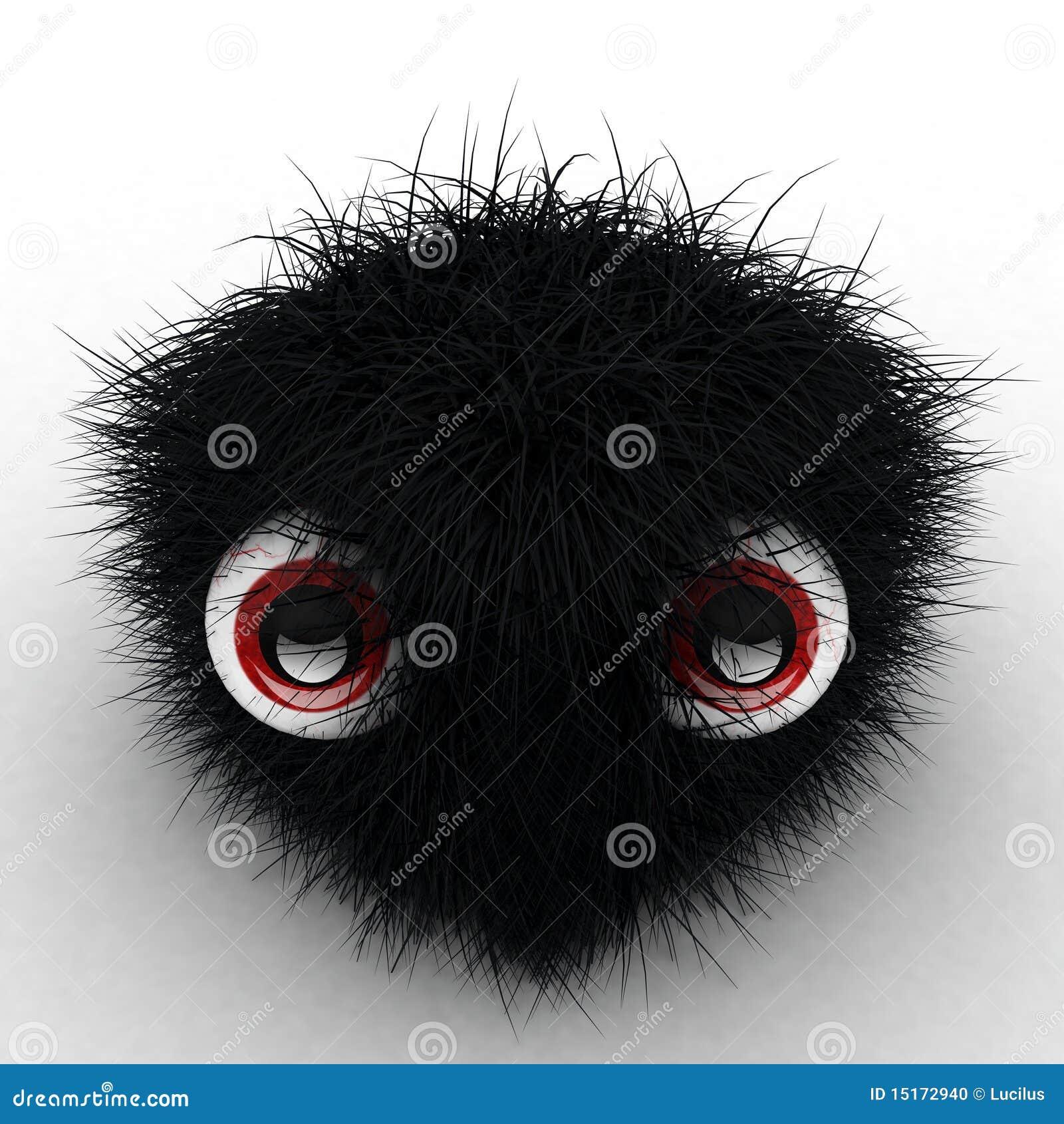 zwarte harige vrouwelijkemooie lullen