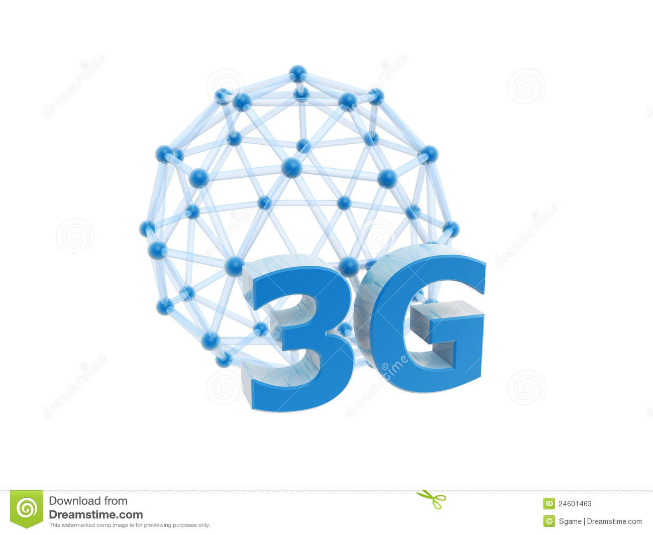 3g network cage ball stock photos   image 24601463