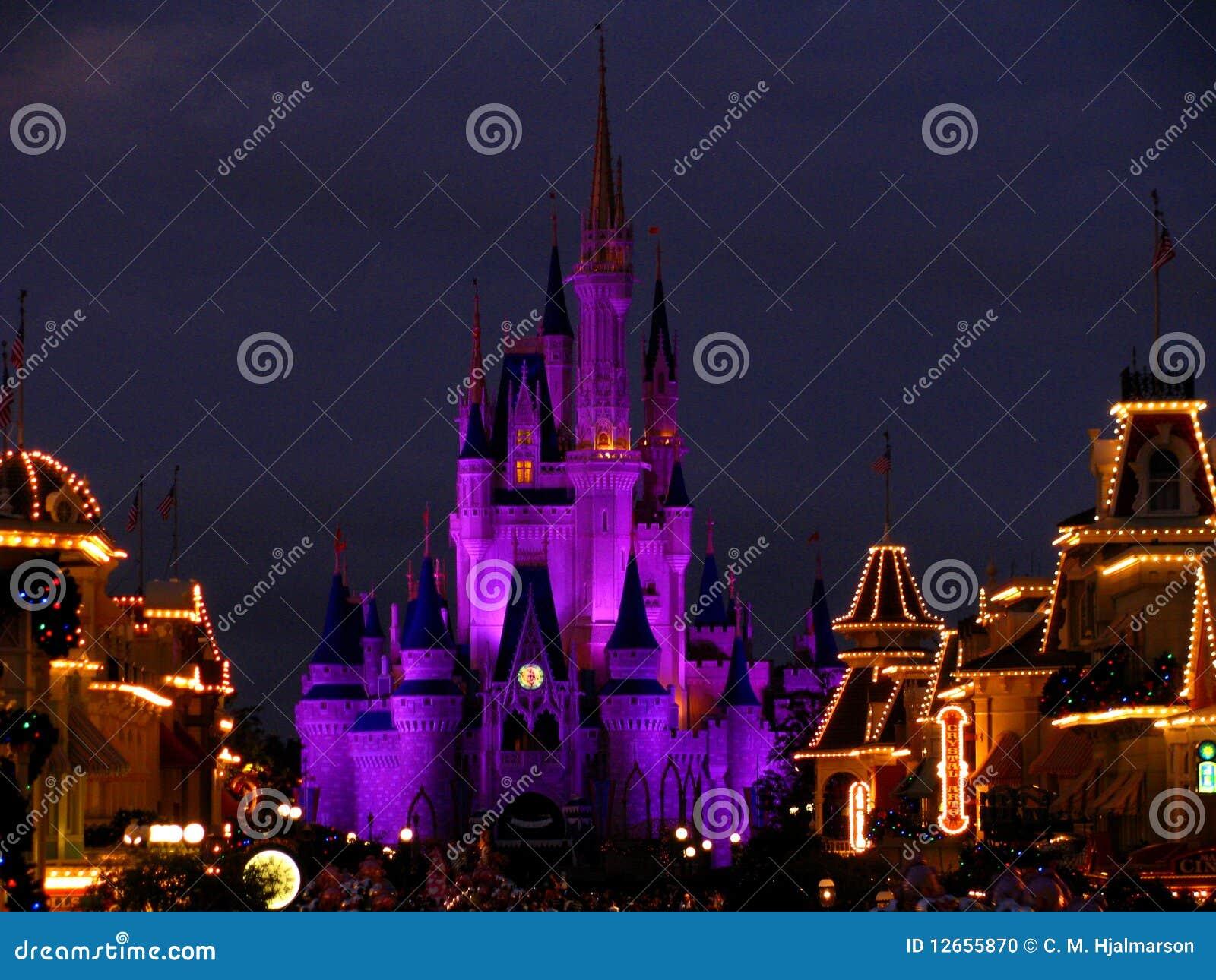 4座城堡disneyworld王国点燃魔术