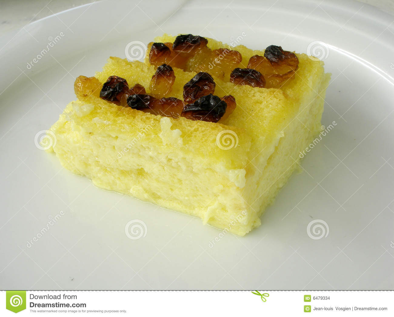 4面包黄油布丁