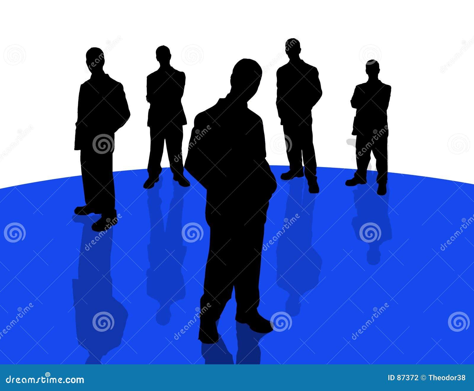 4 σκιές επιχειρηματιών