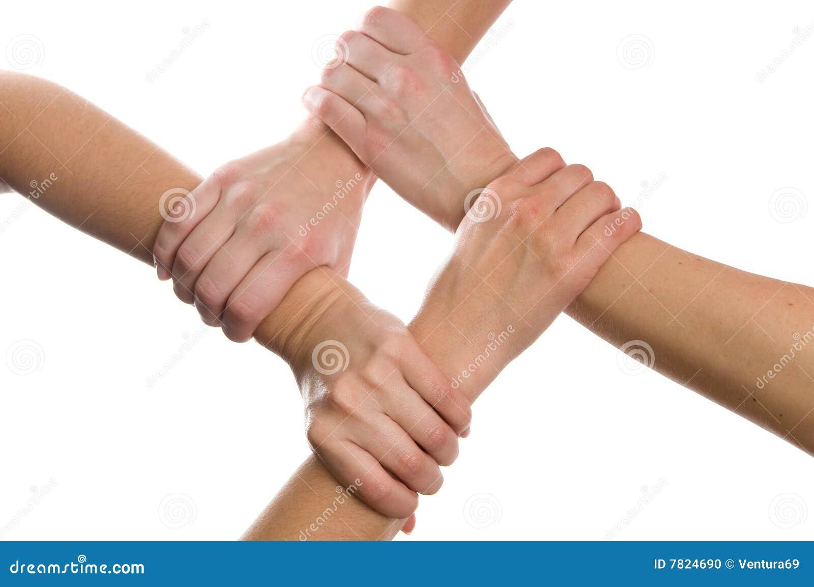 4 συνδεδεμένα χέρια