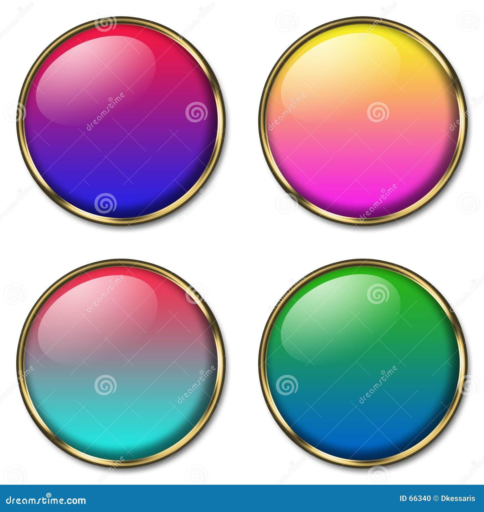 4 botones del Web