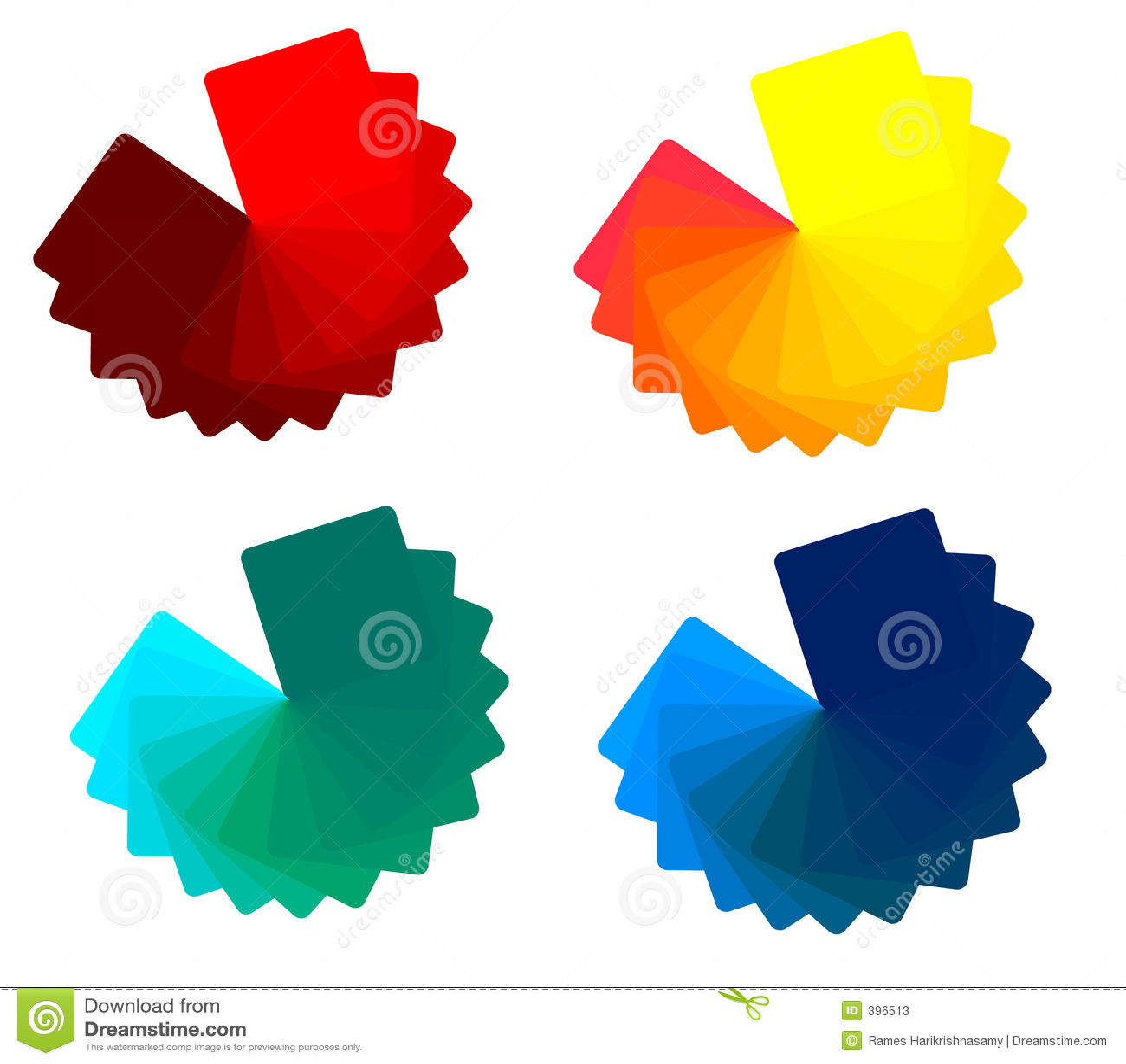 4 Color Tones Stock Photos Image 396513