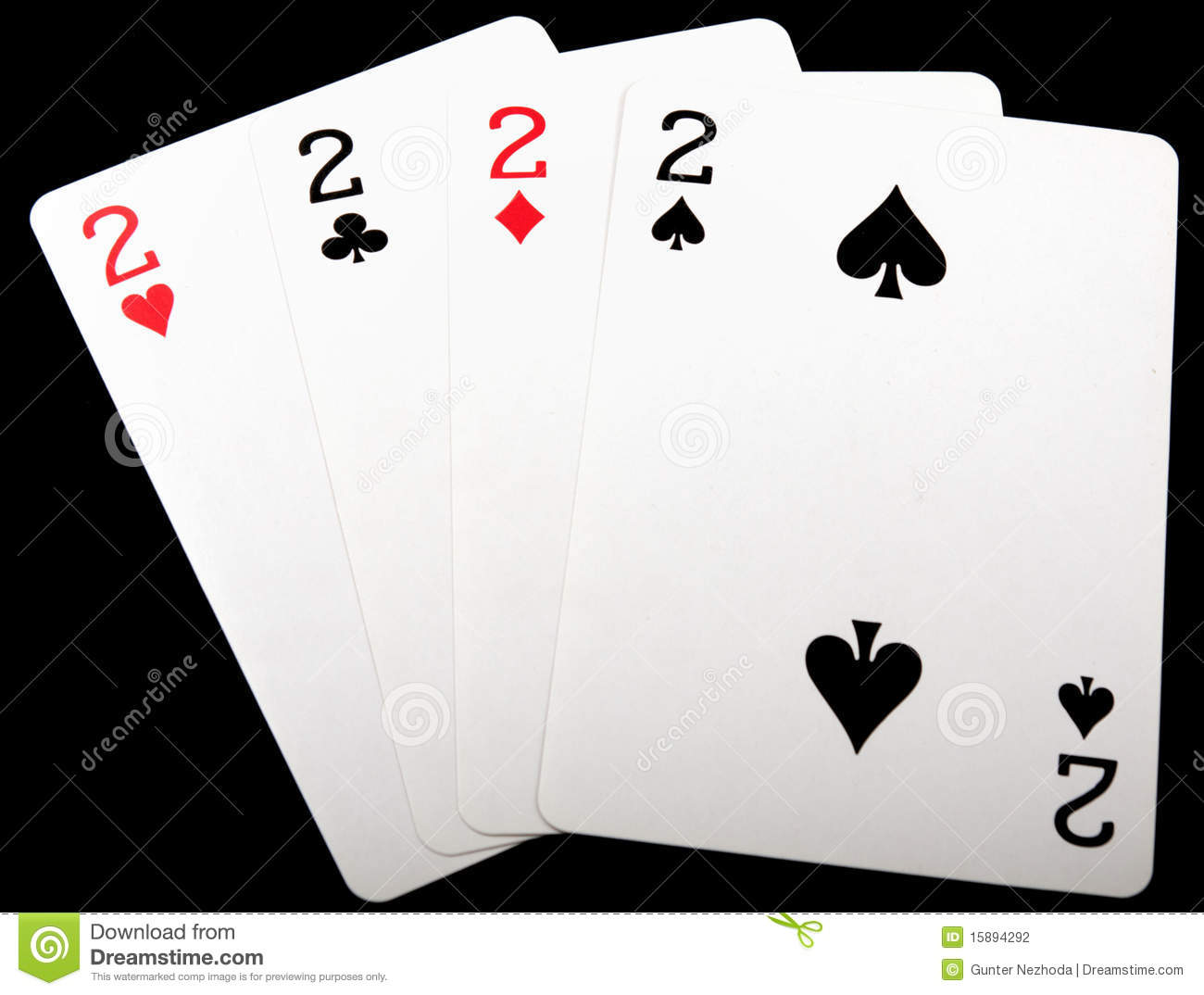 what is four deuces in poker