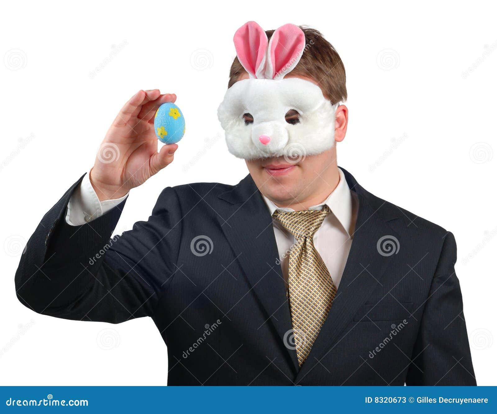 4 królików Easter strój