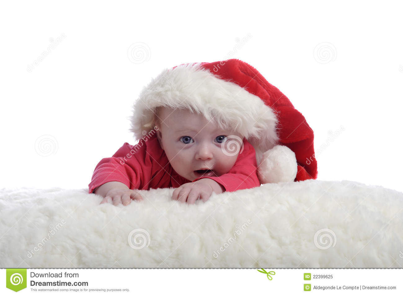 4fc179c6d345 4 Months Old Baby With Christmas Hat Stock Image - Image of person ...