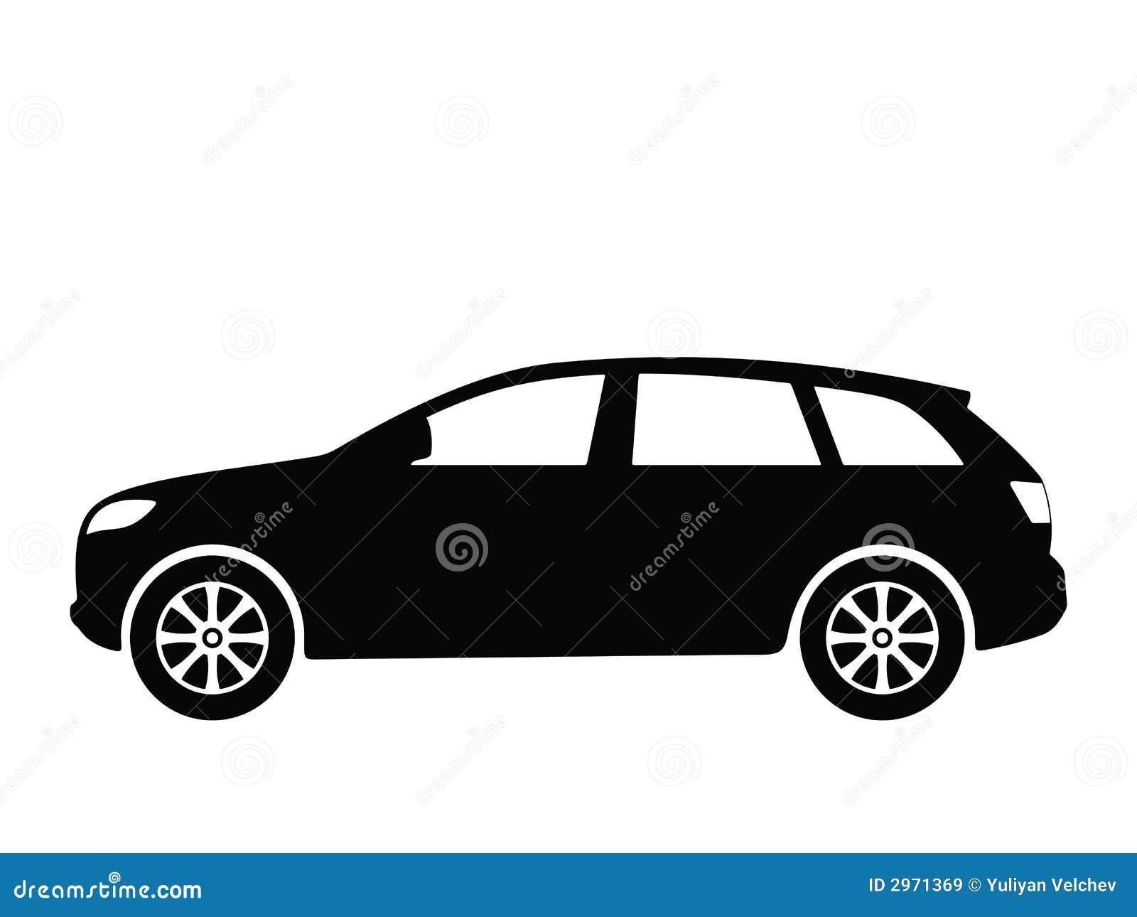 4 samochodów wektora