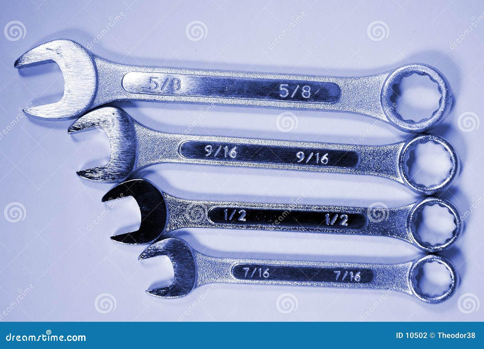 4 skiftnycklar