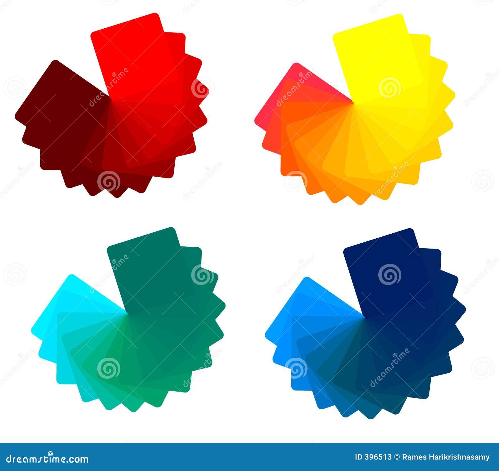 4 sons de couleur.