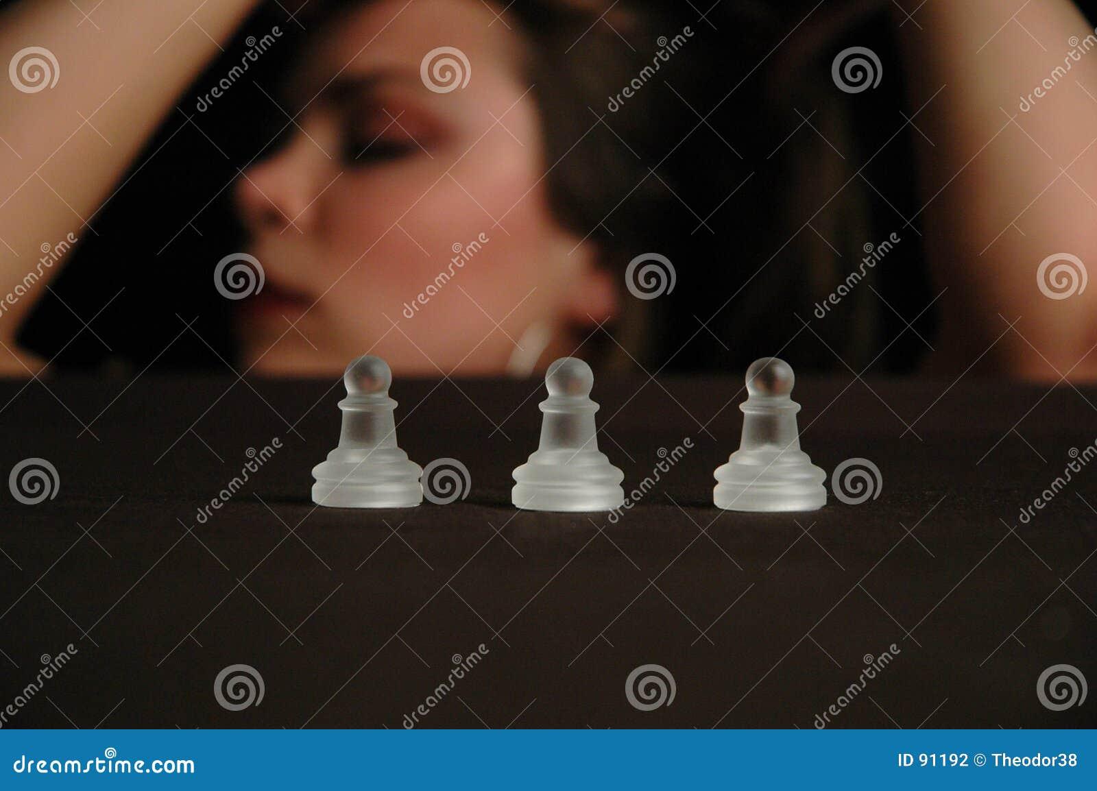 4 szachów kawałki
