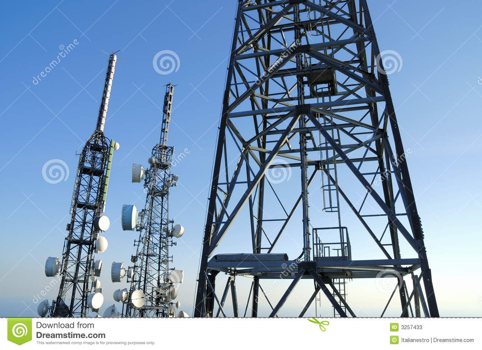 4 telekommunikationtorn